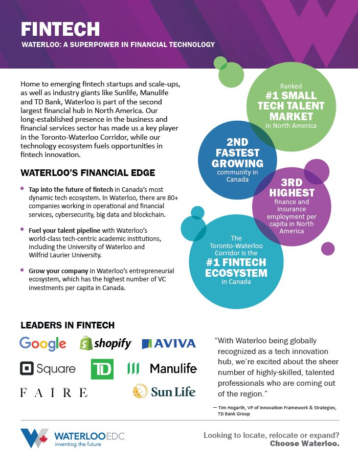 Business and Financial Services Feature Sheet - Download PDF