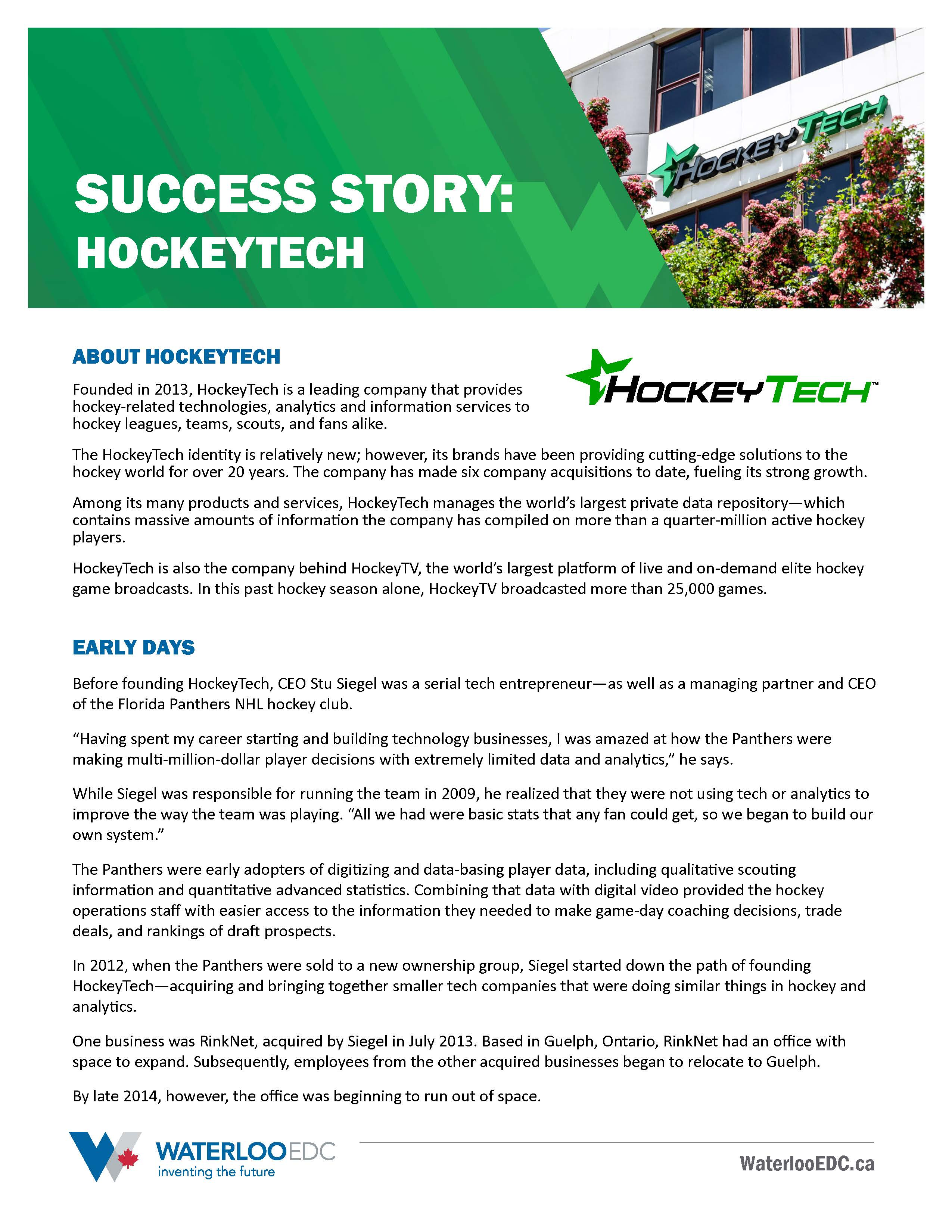 Success Story: HockeyTech