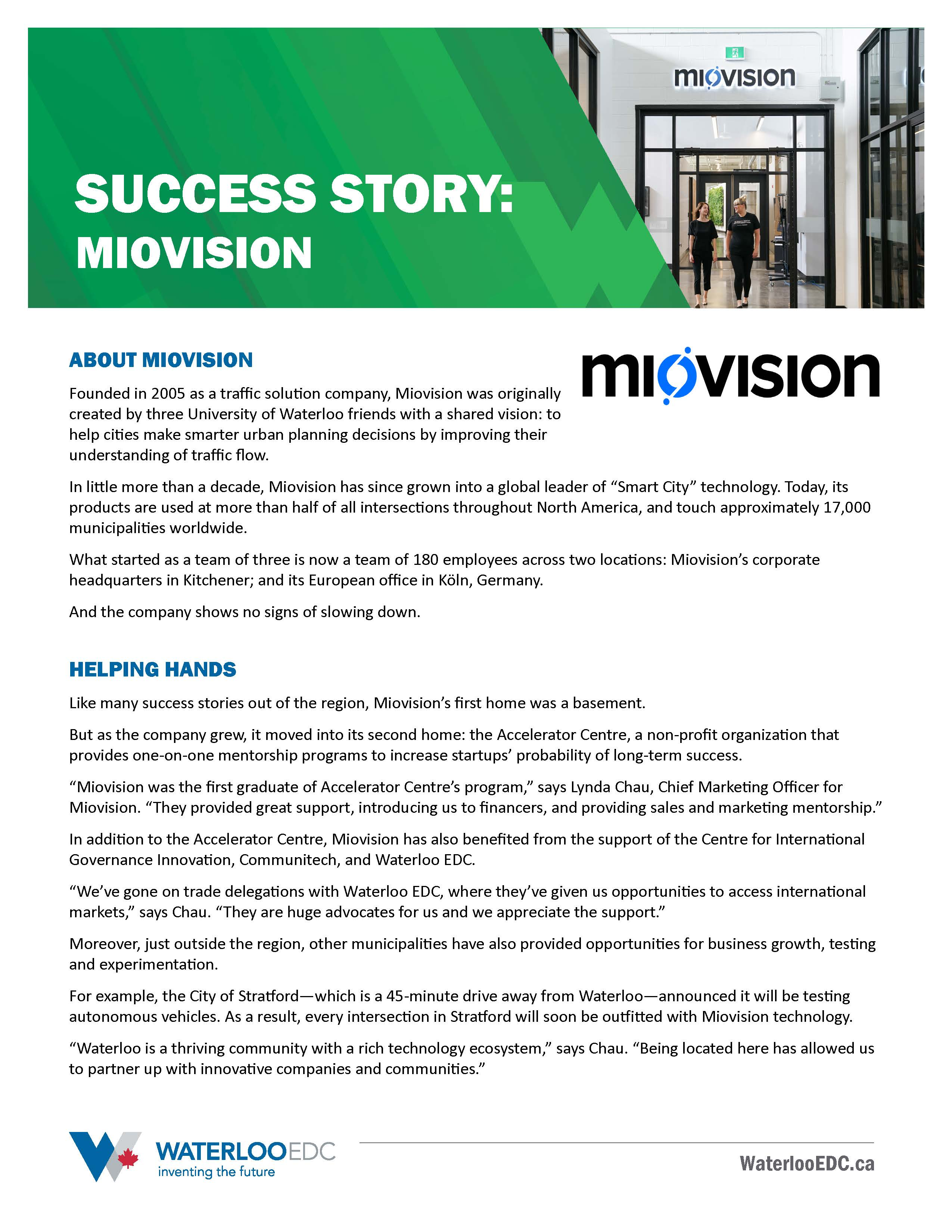 Success Story: Miovision