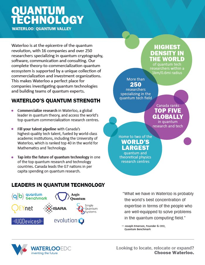 Quantum Technology Feature Sheet -Download PDF