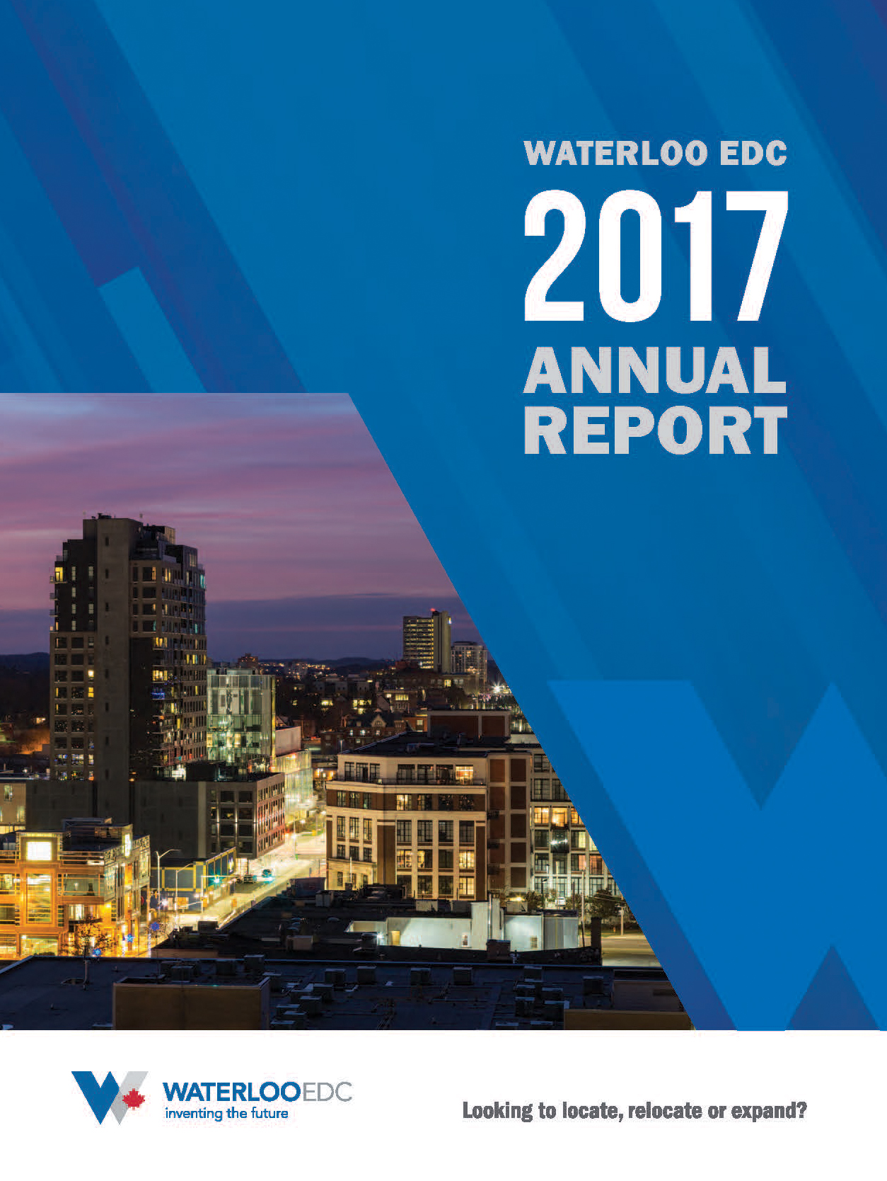 Waterloo EDC 2017 Annual Report