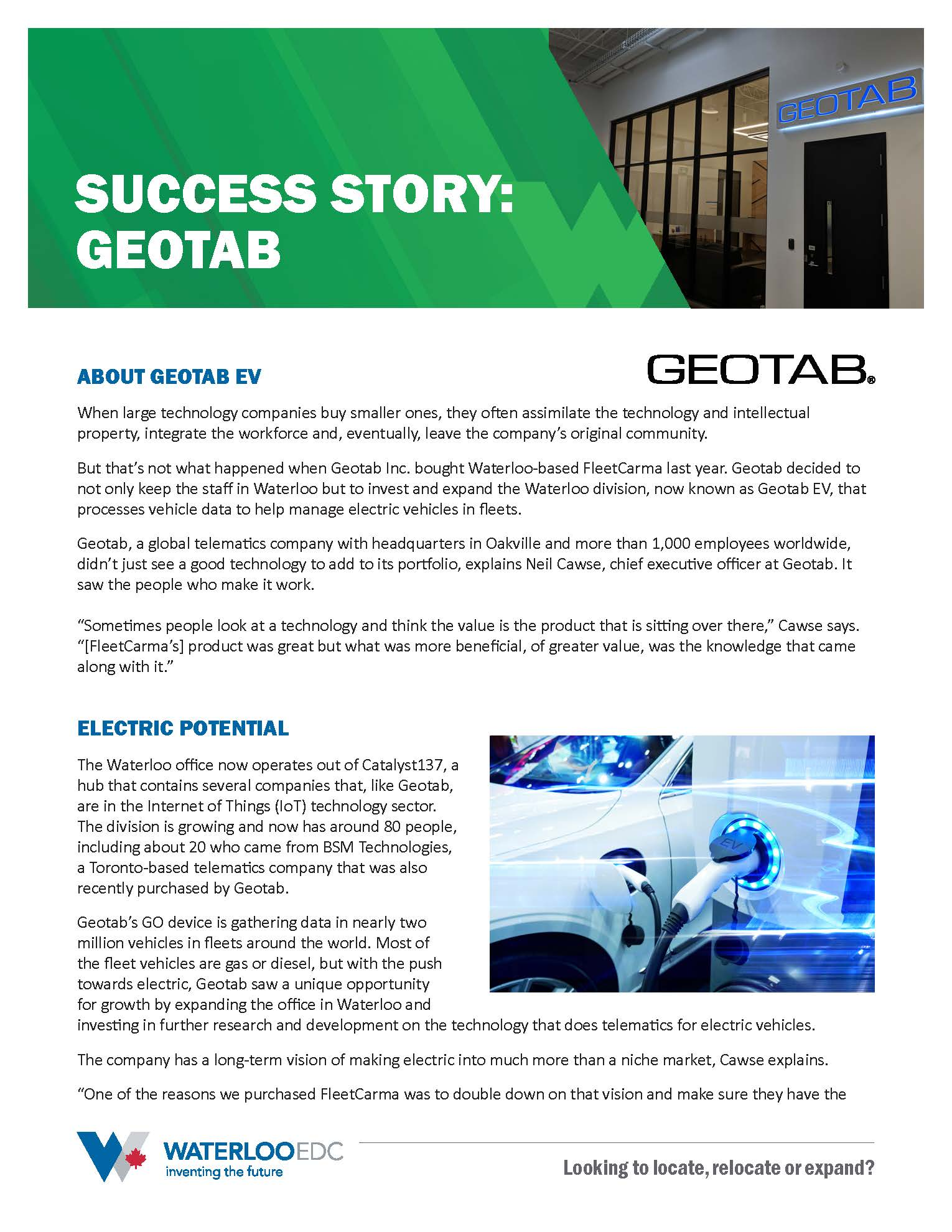 Geotab success story